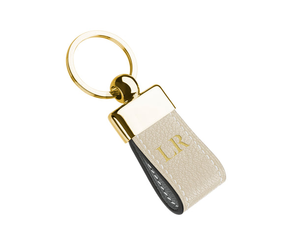 Light Cream - Custom Goat Leather Key Holder