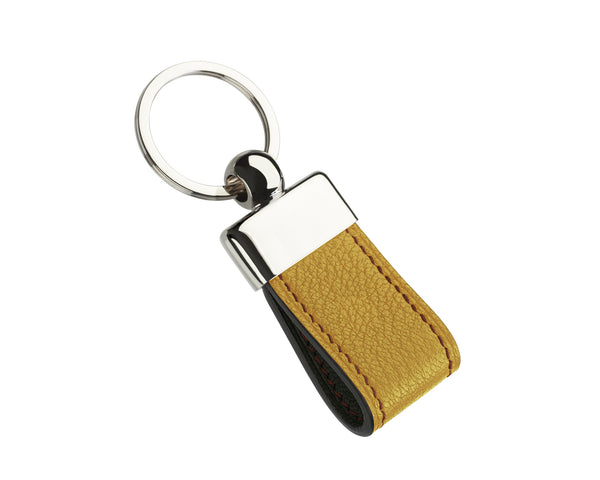 Brimstone Yellow - Custom Goat Leather Key Holder