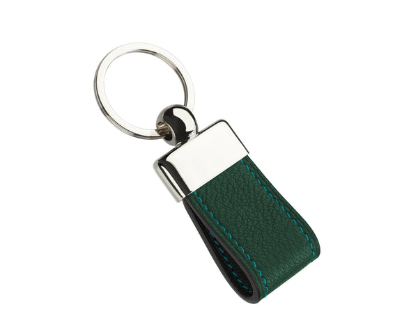 Forest Green - Custom Goat Leather Key Holder