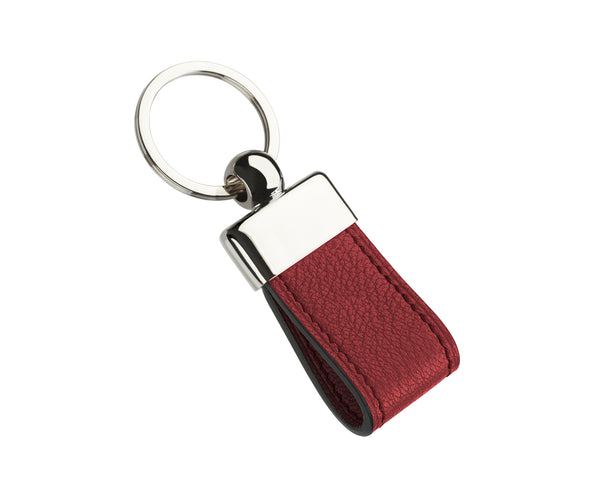 Lobster Red - Custom Goat Leather Key Holder