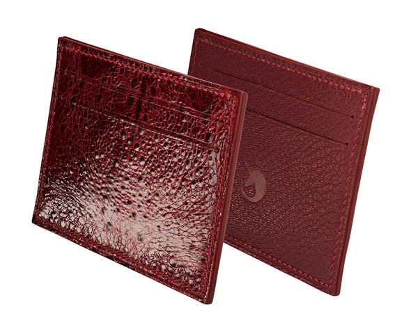 Limited Edition - Crapaud Rouge Leather card holder