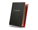 Black Forest -  Custom Leather Passport Cover