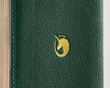 Forest Green -  Custom Leather Passport Cover
