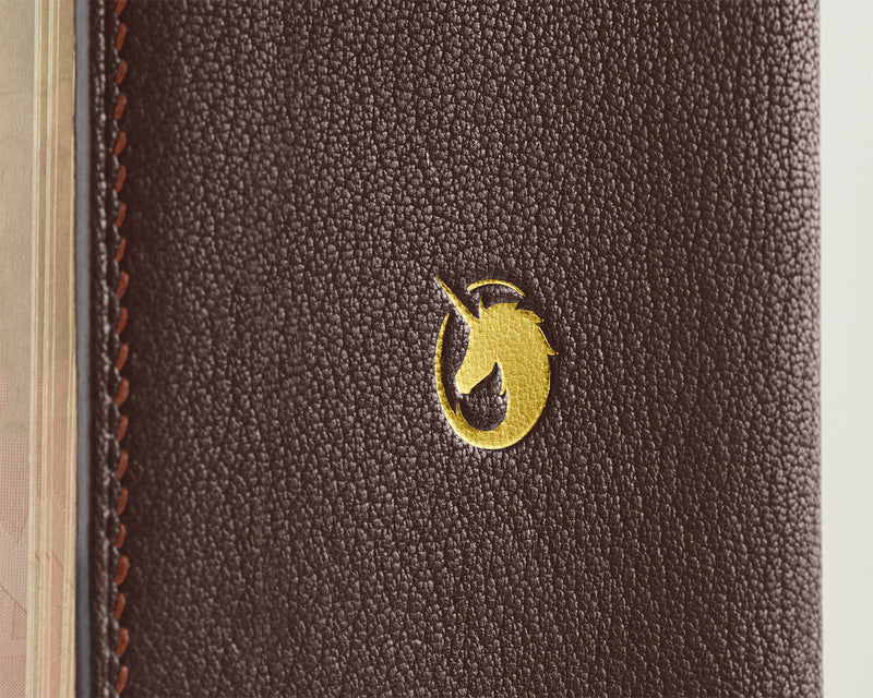 Dark Roast -  Custom Leather Passport Cover