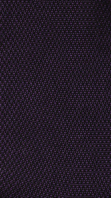 Signature - 75% Egyptian Cotton 25% Silk Ladies Socks - Black/Purple