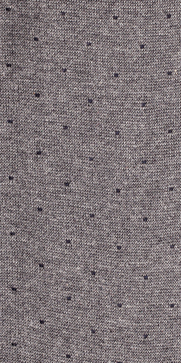 "The Purple Seal luxury socks. 100% cotton, made to measure, made in italy, 216 needles. Dots ""Giotto"" pattern"