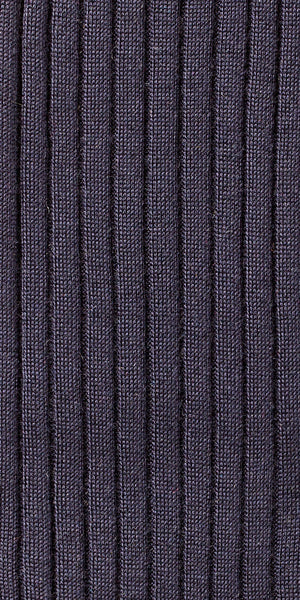 75% Merino Wool 25% Silk Socks - Navy