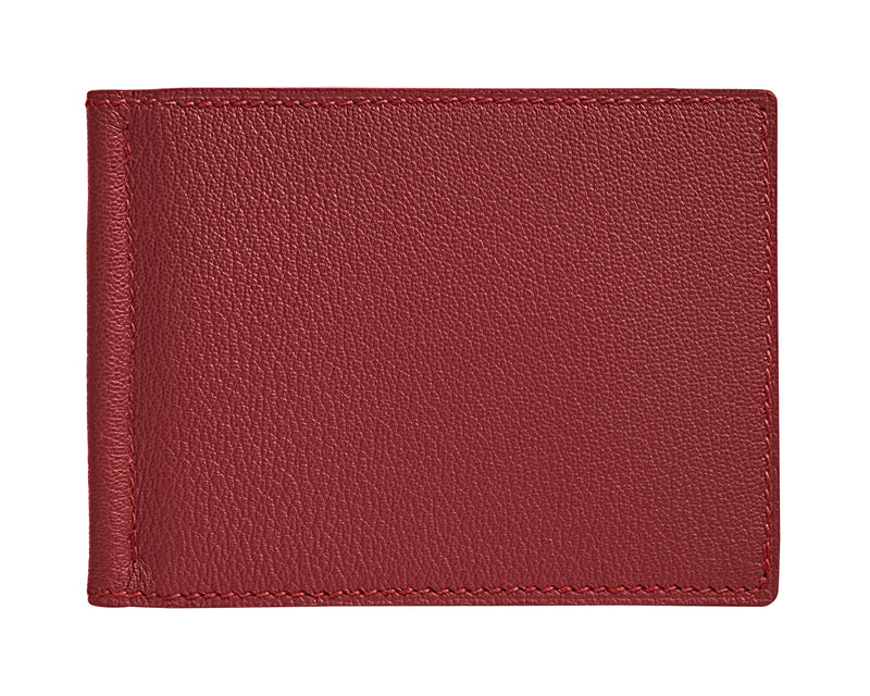 Viator - Lobster Red - Custom Money Clip Wallet