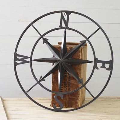 "30"" OLD BLACK COMPASS- PICKUP ONLY"