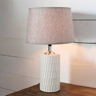TALL RIPPLE LAMP - Pickup In Store Only