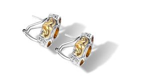 JANKI EARRINGS CITRINE - Gir Collection