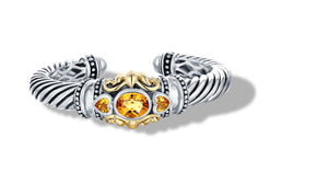 JANKI BRACELET CITRINE - Gir Collection