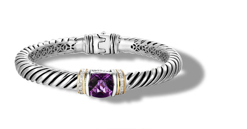 RUTA BRACELET AMETHYST - Gir Collection