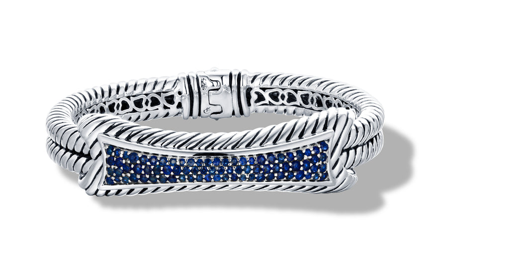 TANVI BRACELET BLUE SAPPHIRE - Gir Collection