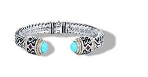 MANALI BRACELET TURQUOISE - Gir Collection