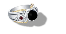 Load image into Gallery viewer, MANALI RING ONYX - Gir Collection