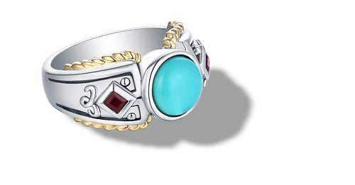 MANALI RING TURQUOISE - Gir Collection