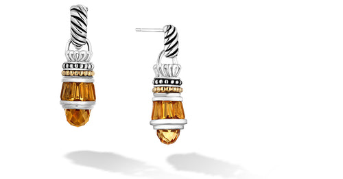 MAYA EARRINGS CITRINE - Gir Collection