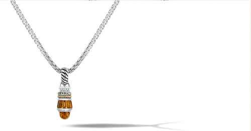 MAYA NECKLACE CITRINE - Gir Collection