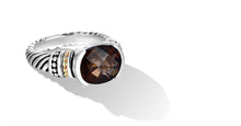 Load image into Gallery viewer, MAYA RING SMOKEY TOPAZ - Gir Collection
