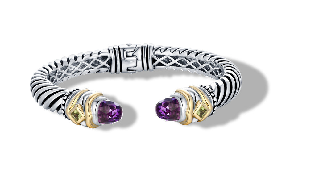 MEGHA BRACELET AMETHYST - Gir Collection