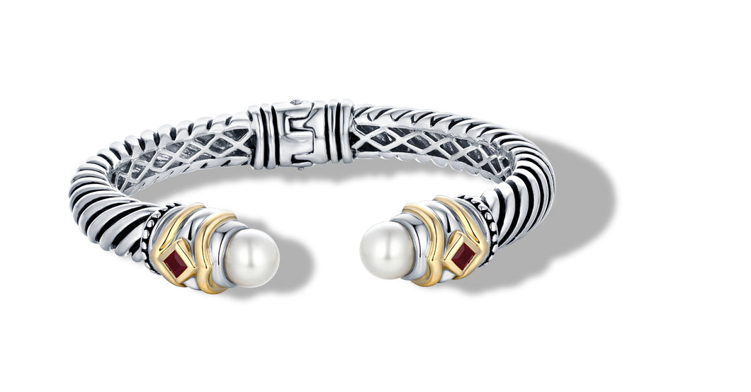 MEGHA BRACELET PEARL - Gir Collection