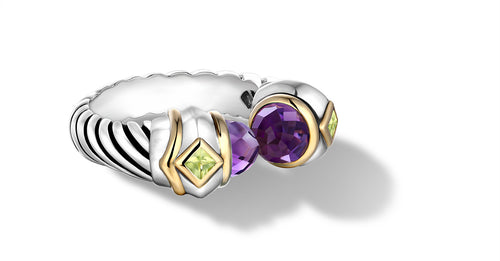 MEGHA RING AMETHYST - Gir Collection