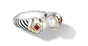 MEGHA RING PEARL - Gir Collection