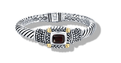 NIRVANA BRACELET GARNET - Gir Collection