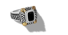 Load image into Gallery viewer, NIRVANA RING ONYX - Gir Collection