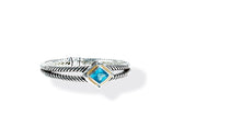 Load image into Gallery viewer, NISHA BRACELET BLUE TOPAZ - Gir Collection