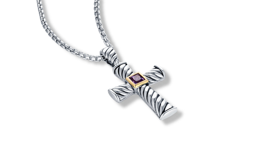 CROSS AMETHYST - Gir Collection
