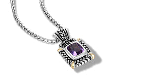 NIRVANA NECKLACE AMETHYST - Gir Collection