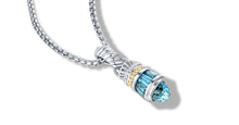 Load image into Gallery viewer, MAYA NECKLACE BLUE TOPAZ - Gir Collection