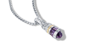 MAYA NECKLACE AMETHYST - Gir Collection