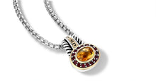 Load image into Gallery viewer, ZIKARA NECKLACE CITRINE - Gir Collection
