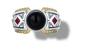 MANALI RING ONYX - Gir Collection