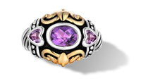 Load image into Gallery viewer, JANKI  RING AMETHYST - Gir Collection