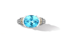 Load image into Gallery viewer, MAYA RING BLUE TOPAZ - Gir Collection