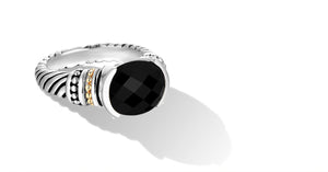 MAYA RING ONYX - Gir Collection