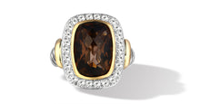 Load image into Gallery viewer, RAINA RING SMOKEY TOPAZ - Gir Collection
