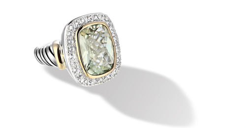 RAINA RING PARSIOLITE - Gir Collection