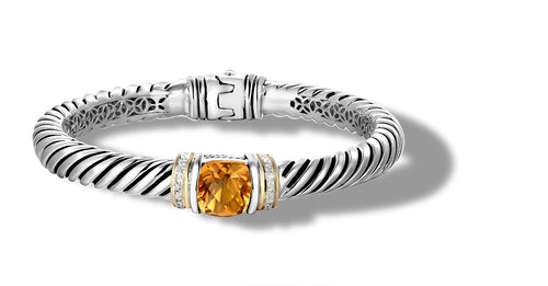 RUTA BRACELET CITRINE - Gir Collection
