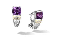 RUTA EARRINGS AMETHYST - Gir Collection
