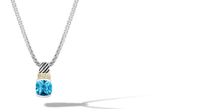 RUTA NECKLACE BLUETOPAZ - Gir Collection