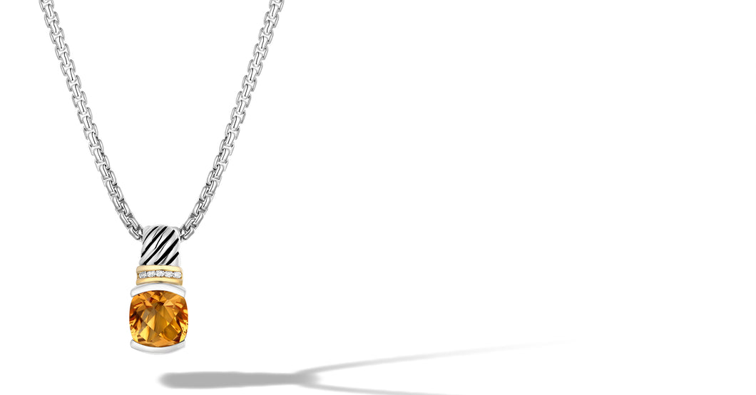RUTA NECKLACE CITRINE - Gir Collection