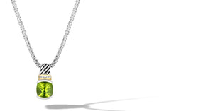 RUTA NECKLACE PERIDOT - Gir Collection
