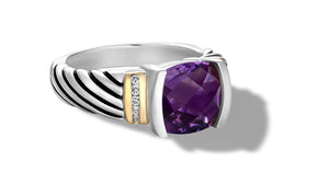 RUTA RING AMETHYST - Gir Collection