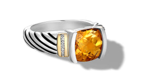 RUTA RING CITRINE - Gir Collection