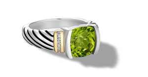 RUTA RING PERIDOT - Gir Collection